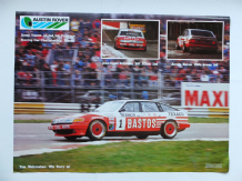 ROVER SD1 VITESSE TWR Group A E.T.C.C. Monza 1-2-3 1985 poster 24x16""